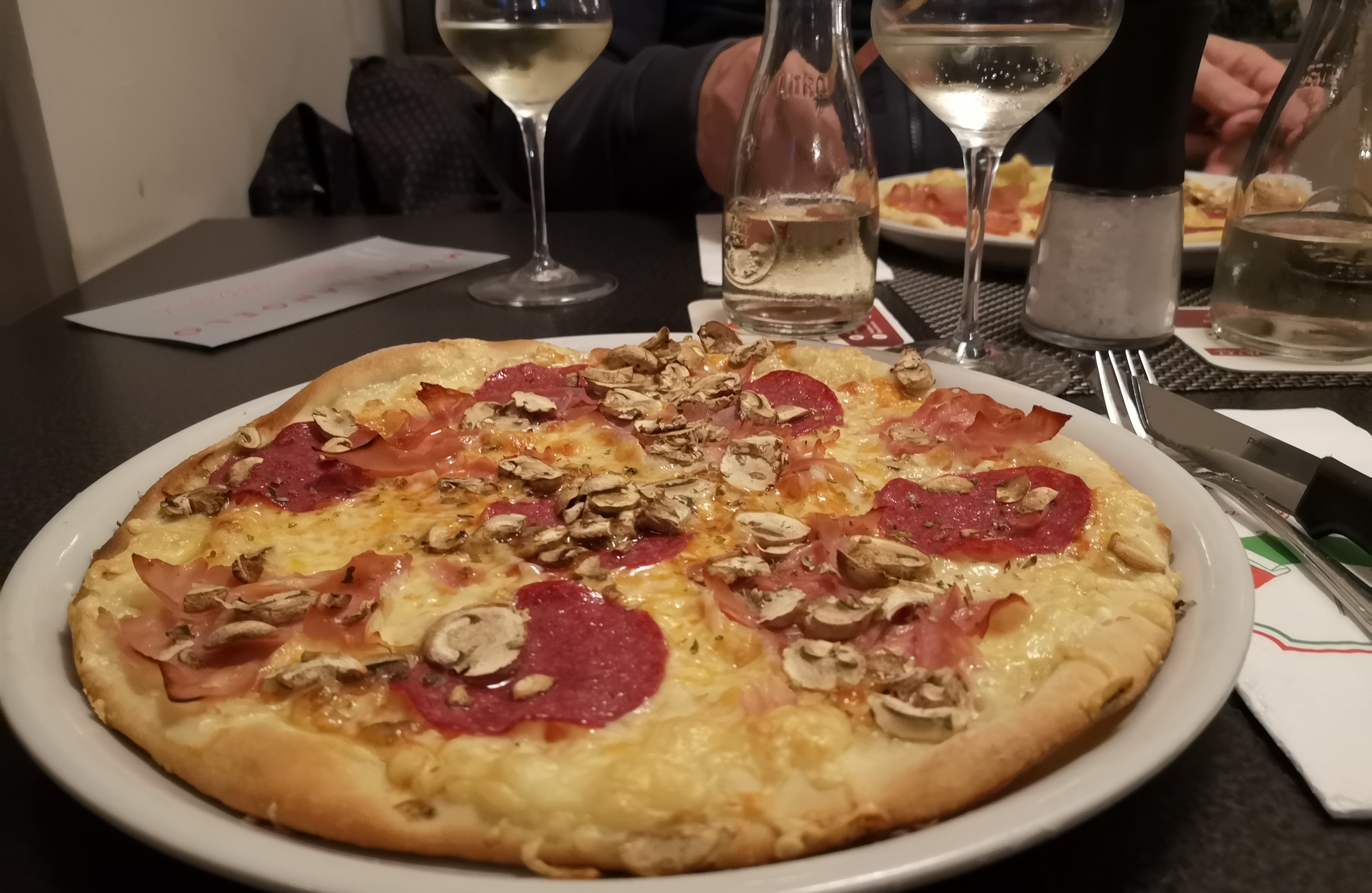 Michelangelo Norderney ,Pizza Norderney, Inselblogger